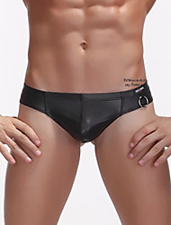 Men Solid Shaping Panties Boxers Underwear,Polyester