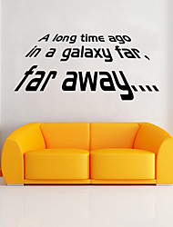 Star Wars Wall Stickers Decorative Wall StickersVinyl Material Removable Home Decoration