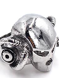 Ringe Hochzeit / Party / Alltag Schmuck Herren Ring 1 Stück,Eine Größe Silber