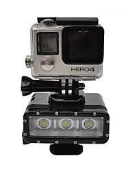 Accessoires pour GoPro Spot Light LED Etanches, Pour-Caméra d'action,Xiaomi Camera / Autres / Gopro Hero 4 Silver / Gopro Hero 4 Session