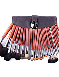 28 Makeup Brushes Set Synthetic Hair / Goat Hair / Others / Mink Hair / Bristle Professional / Portable / Full Coverage WoodFace / Eye /