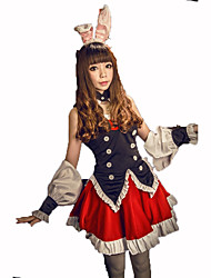 Maid Costumes Festival/Holiday Costumes Dress / Headwear / Bracelet / Tie / Vest Female Polyester