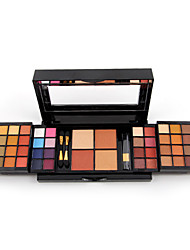 New Makeup Palette 48 Colors Eyeshadow With Eye Primer Luminous Eye Shadow Palette Band Makeup Cosmetics