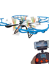 Drone RC 8476 4CH 2 Axis 2.4G RC Quadcopter With Camera / One Key To Auto-Return / 360°RollingRC Quadcopter / Camera / Remote