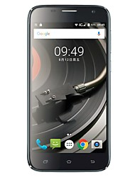 UHANS A101 5.0  Android 6.0 Cell Phone (Dual SIM Quad Core 5 MP 1GB  8 GB Black / White)