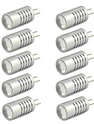 2W G4 LED Bi-pin Lights T 1 High Power LED 190 lm Warm White / Cool White DC 12 V 10 pcs