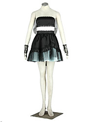 Vocaloid Hatsune Miku Anime Cosplay Costumes Hat / Dress / Gloves / Bow / Stockings / Headpiece / More Accessories Kid