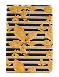 Для Бумажник для карт / Оригами Кейс для Задняя крышка Кейс для Пейзаж Твердый Искусственная кожа для Apple iPad Mini 4 / iPad Mini 3/2/1