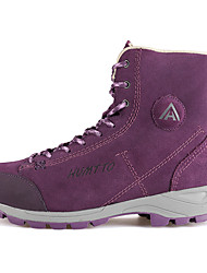 Men's / Women's Snow sports Mid-Calf Boots Winter Anti-Slip / Waterproof / Breathable Shoes Purple / Brown