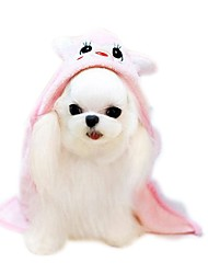Коты Собаки Костюмы Банданы и шляпы Одежда для собак Зима Лето Весна/осень Мультфильмы Милые Праздник Мода На каждый деньЖелтый Зеленый