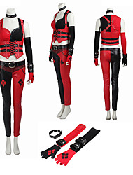 Cosplay Costumes /The Dark Knight Harley Clown Cosplay Costume High Quality Suit Custom Size Full Set