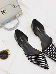 Damen-Flache Schuhe-Lässig-PUKomfort-Silber / Gold