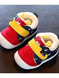 Mädchen-Sneaker-Lässig-PUKomfort-Blau / Rot / Orange