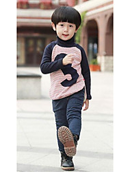 Boy Casual/Daily Solid Pants-Cotton Winter