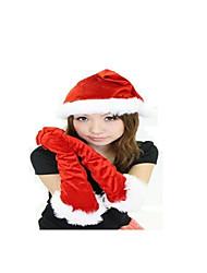 Vermelho Algodão Acessórios de Cosplay Natal