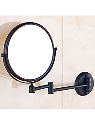 Espelho de Maquilhagem Tradicional Preto,Alta qualidade Espelho