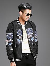 2016 inverno nova moda personalidade tendência ocasional de homens cultivar jaqueta de algodão