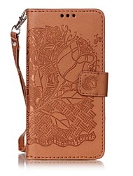 For Sony Xperia XA  Case Cover New Embossed PU Rich Rose Pattern Phone Embossed Leather Material Phone Case