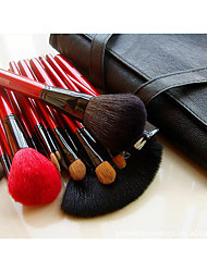 26 Makeup Brushes Set Mink Hair Travel / Full Coverage / Portable Wood Face / Eye / Lip Others