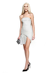 TS Couture® Cocktail Party Dress Sheath / Column Strapless Knee-length Jersey