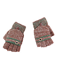 Autumn And Winter Knitting Wool Warm Bag Finger Gloves
