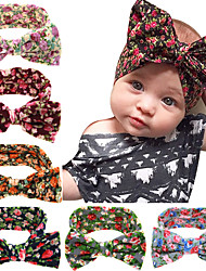 Baby Kids Girl Toddler Infant Flower Floral Hairband Turban Knot Rabbit Bowknot Headband Headwear Hair Accessories 6pcs