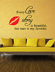 Romance Wall Stickers Plane Wall Stickers Decorative Wall StickersVinyl Material Removable Home Decoration Wall Decal