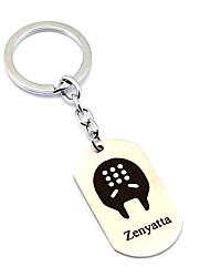 Inspired by Zenyatta Overwatch  Anime Cosplay Accessories Keychain Silver Alloy