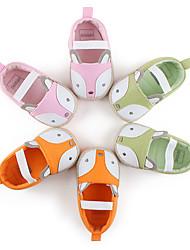 Girl's Flats First Walkers / Crib Shoes Linen Dress / Casual Neutral