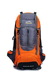 45 L Tourenrucksäcke/Rucksack / Travel Organizer / Rucksack Camping & Wandern / Reisen Draußen Multifunktions Grün / Rot / Blau / Orange