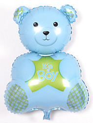 Balloons Holiday Supplies Animal Aluminium Blue / Pink For Boys / For Girls 5 to 7 Years / 8 to 13 Years