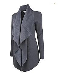 Foreign Leather cashmere coat jacket 0.6kg