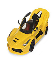 Car Racing cd1601c 1:16 Brushless Electric RC Car 50km/h 2.4G Yellow Ready-To-Go Remote Control Car / USB Cable / User Manual