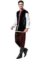 Cosplay Costumes Oktoberfest/Beer Movie Cosplay Black Solid Top / Pants Oktoberfest Male Polyester