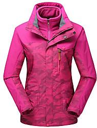 Wandern Windjacken / Softshell Jacken / Oberteile Damen Wasserdicht / warm halten Frühling / Sommer / Herbst / Winter PolyesterM / L / XL