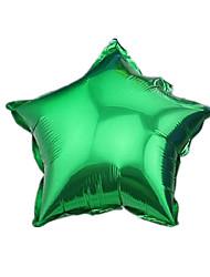 Balões Decoração Para Festas Triângulo alumínio Verde Para Meninos / Para Meninas 5 a 7 Anos