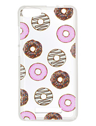 For Wiko Lenny 3 Case Cover Doughnuts Pattern Back Cover Soft TPU Lenny 3 Sunset 2