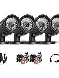 Annke® Packed New AHD 720P Outdoor CCTV Camera Kits Weatherproof Home Security System, 100ft Super Night Vision