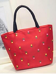 Women Oxford Cloth Casual Tote