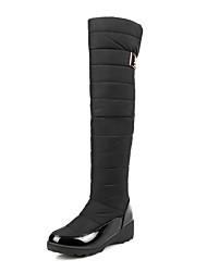 Women's Shoes Boots Spring  Fall  Winter Platform  Comfort Office Career  Party Evening  Casual Platform Magic TapeBlack