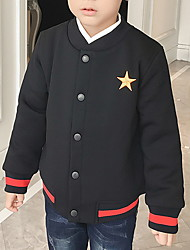 Boy Sports Solid Suit & Blazer,Cotton Winter Long Sleeve