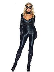 Costumes de Cosplay Noir Cuir verni Accessoires de cosplay Halloween / Carnaval / Fête d'Octobre