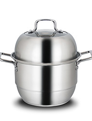 Stainless Steel Double-layer Steamer 30cm