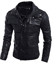 Leather Jacket Long Sleeve Calfskin