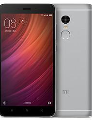 """Xiaomi Redmi Note 4 5.5 """" MIUI Smartphone 4G (Double SIM Deca Core 13 MP 3GB + 64 GB Doré / Argenté / Gris)"""
