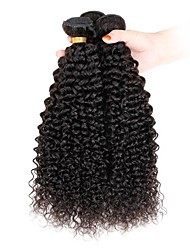 3 bundles Indian Kinky Curly  Human Hair Weave Extensions 300g Full Head Set 8inch-28inch