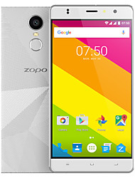 "Hero 2 5.5 "" Android 6.0 Celular (Chip Duplo Quad Core 8 MP 1GB + 16 GB Preto / Dourado / Branco)"