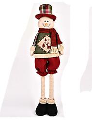 Jouets Décorations de Noël Costumes de père noël / Elk / Bonhomme de neige Dessin Animé / Adorable / Haute qualité / ModeDéco de