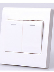 86 Two Switch Panel Two Open Single Wall Switch Socket