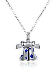 Star Bell Pendant Necklace Women Fashion Collier Femme Bijoux Christmas Gift  Festival Shop Choker Necklace N918